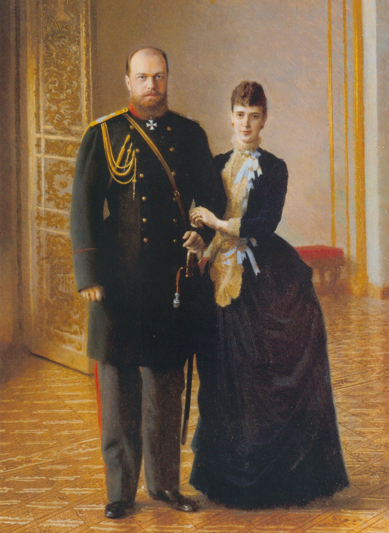 Strange Imperial Royal Couple Tsar Alexander Iii Of Russia And Download Free Architecture Designs Scobabritishbridgeorg
