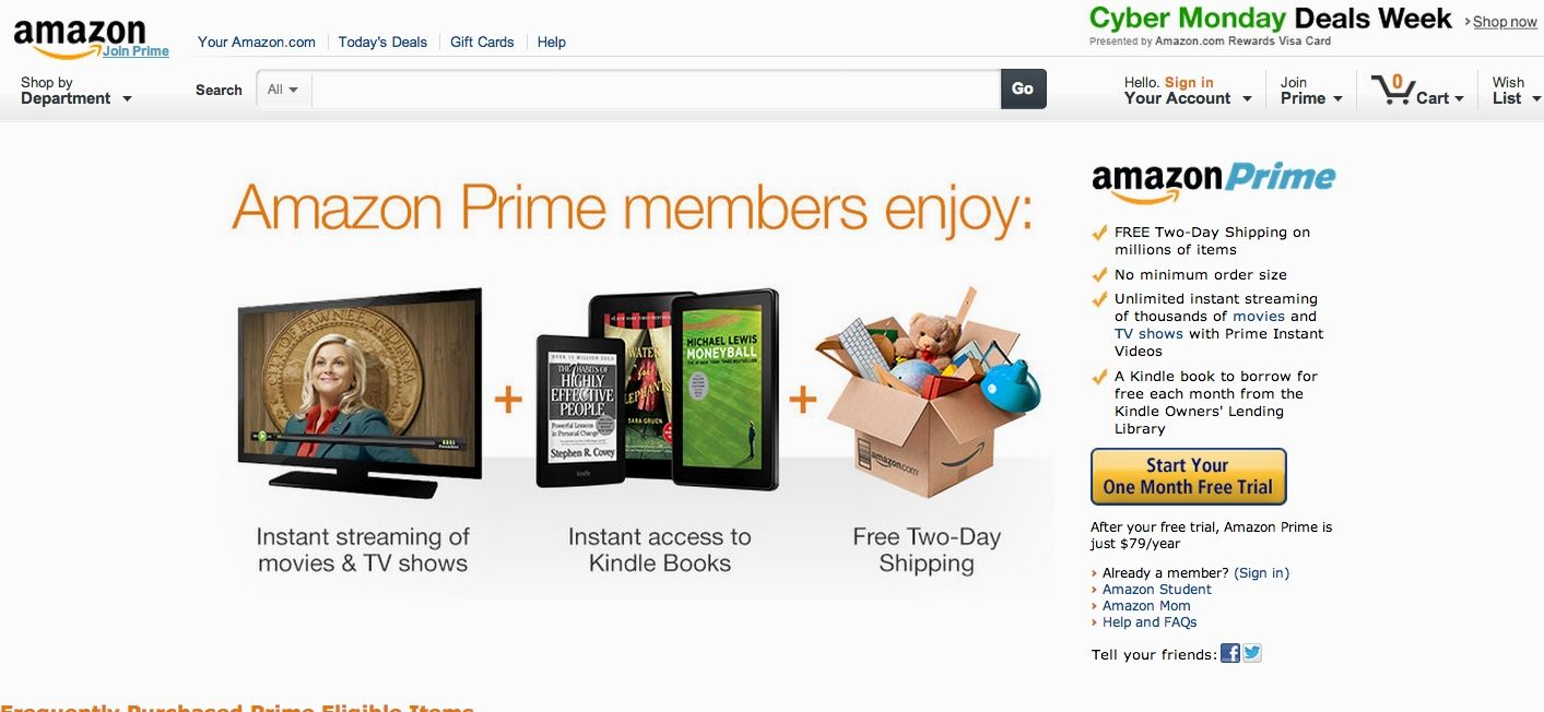 Don't know what to give ? Give the Gift of Amazon Prime        http://amzn.to/1OQUgVM