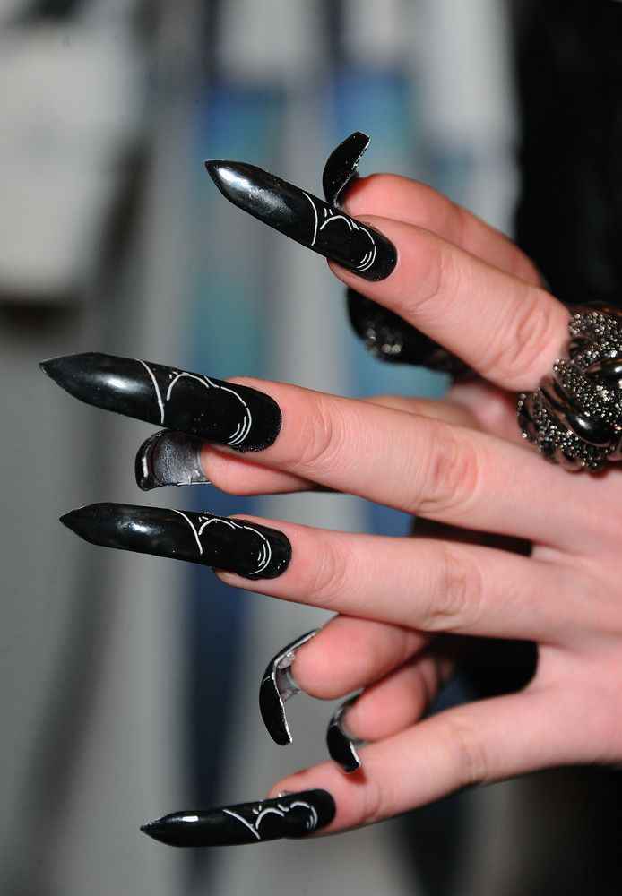The Most Outrageous Nails At New York Fashion Week Fall 2013 ...