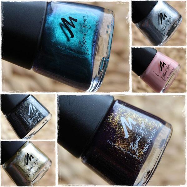 Manhattan Bonnie Strange Nail Polish http://www.talasia.de/2013/10/24/manhattan-bonnie-strange-colour-collection-nail-polish/