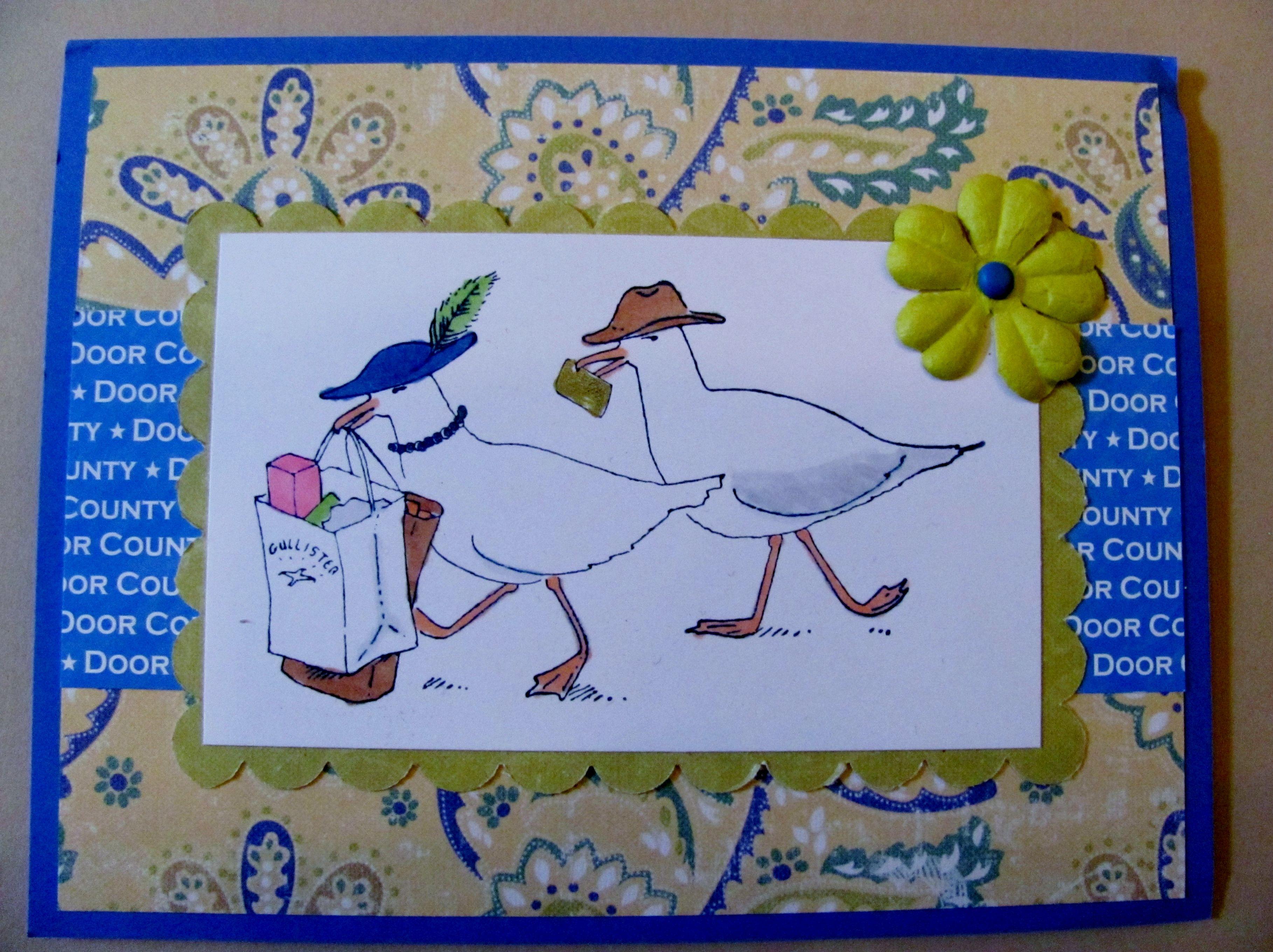 Delicieux Door County Rubber Stamps   Sealgulls