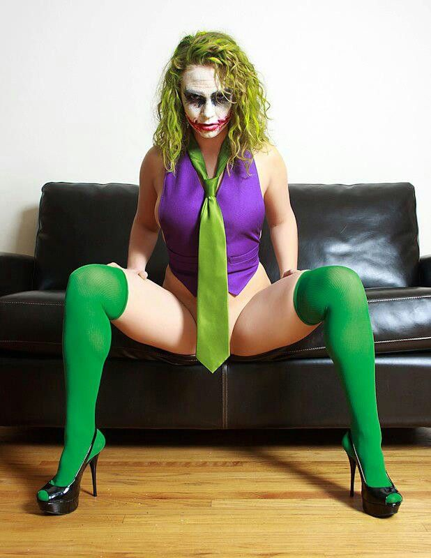 Joker sex cosplay Thick picture girl asian