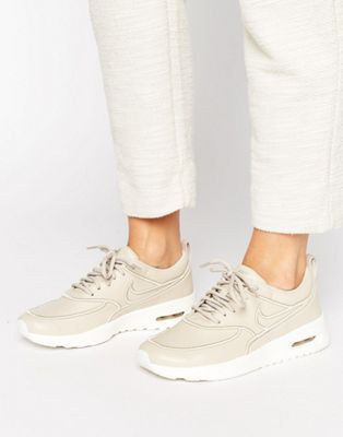 Nike Air Max Thea Ultra Premium Sneakers In Beige | Sports | Womens ...
