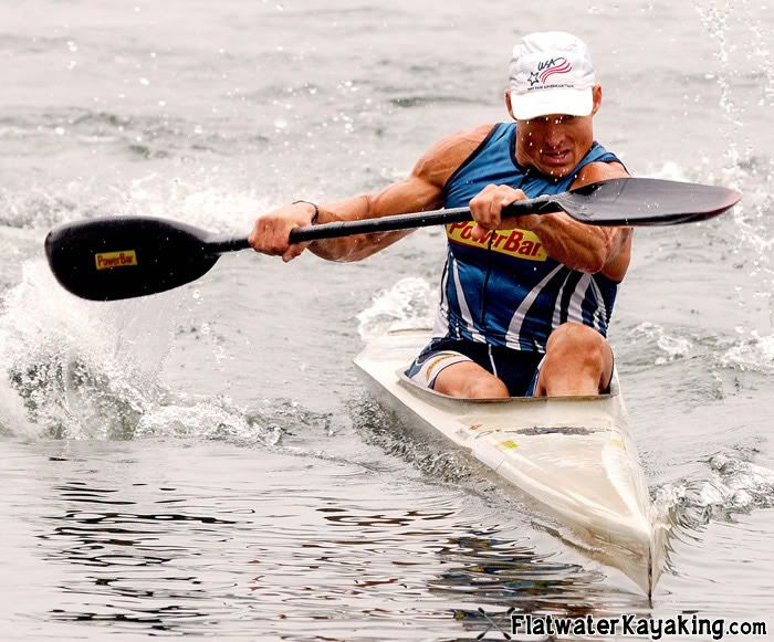 flatwater kayaking racing sprinting techniques marathon k1