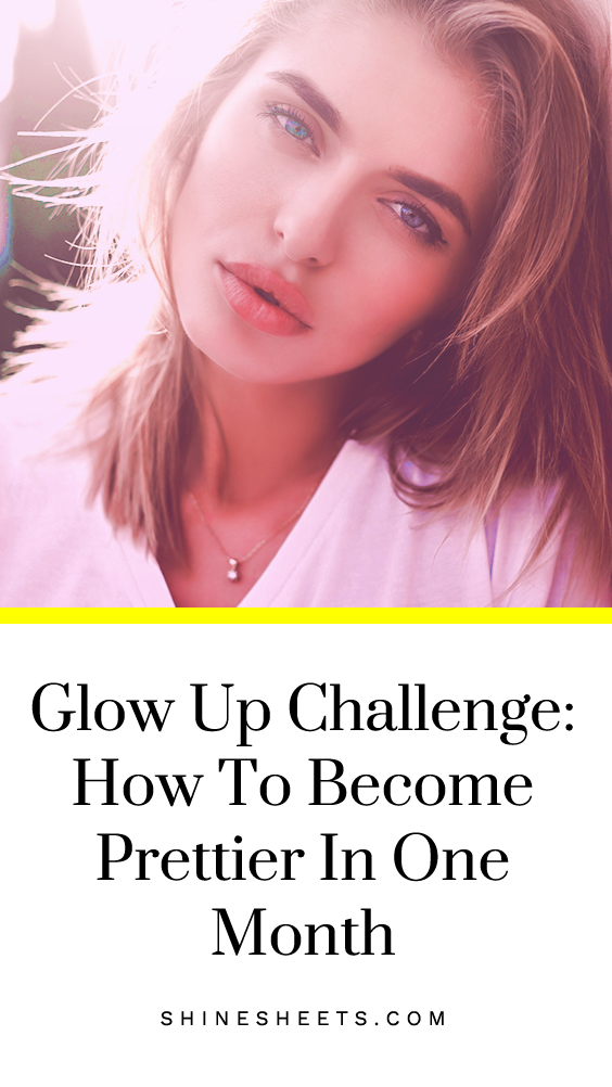 Will you dare to take this fun, healthy and loving glow up challenge to become prettier in one month? Let's do this together! Click to start this challenge and meet your next season glowing like a bombshell. | ShineSheets.com | Glow up tips, Glow up plan, Glow up routine, Beauty makeover, Glow up transformation, Glo up tips, glow up list, Girl life hacks, Back to school, Beauty Improvement, Become pretty, Improve your appearance, Beauty tips #beauty #pretty #glowup  #glowuptips #hoetips #looks
