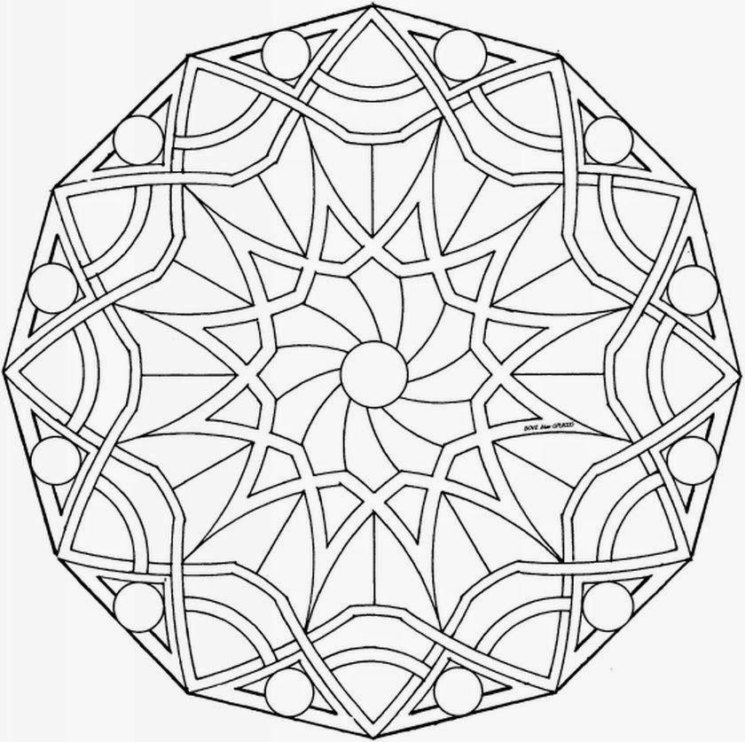 Mandalas Para Pintar: mandalas para colorear | mandalas | Pinterest ...