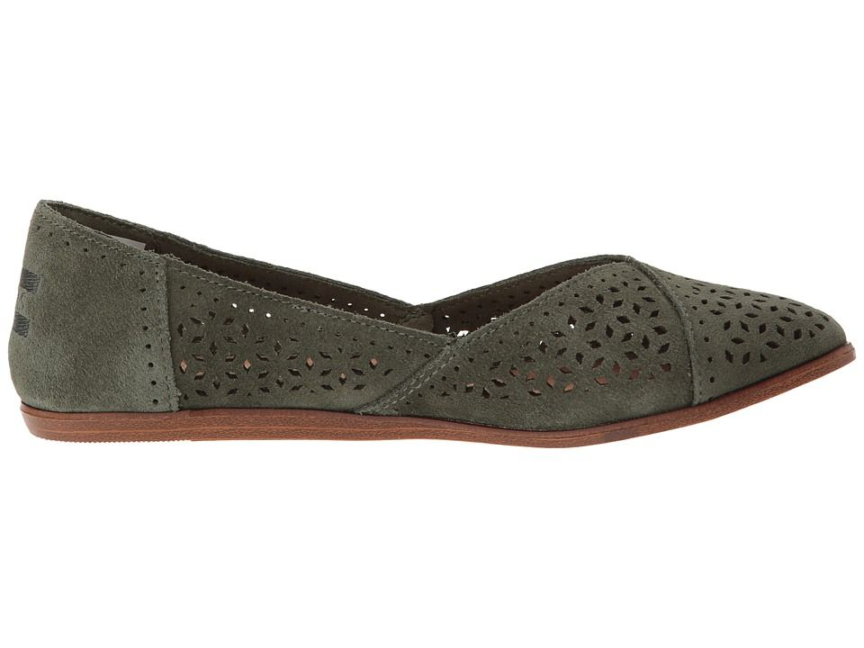 TOMS Jutti Flat Women's Flat Shoes Pine
