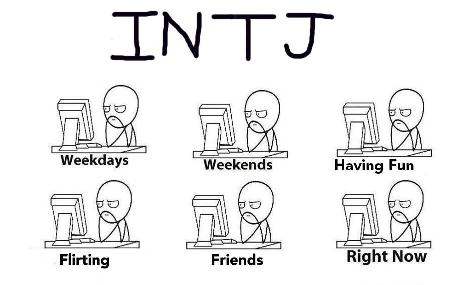 INTJ humor...but seriously. (I do enjoy getting into