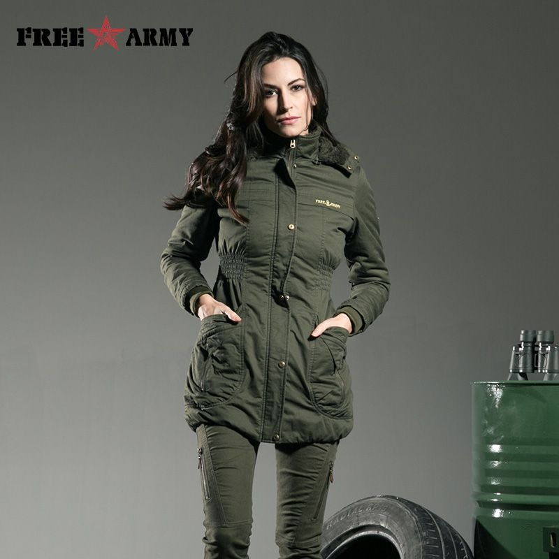Promotion Brand Winter Ladies Jackets Womens Outwear Warm Hooded ...
