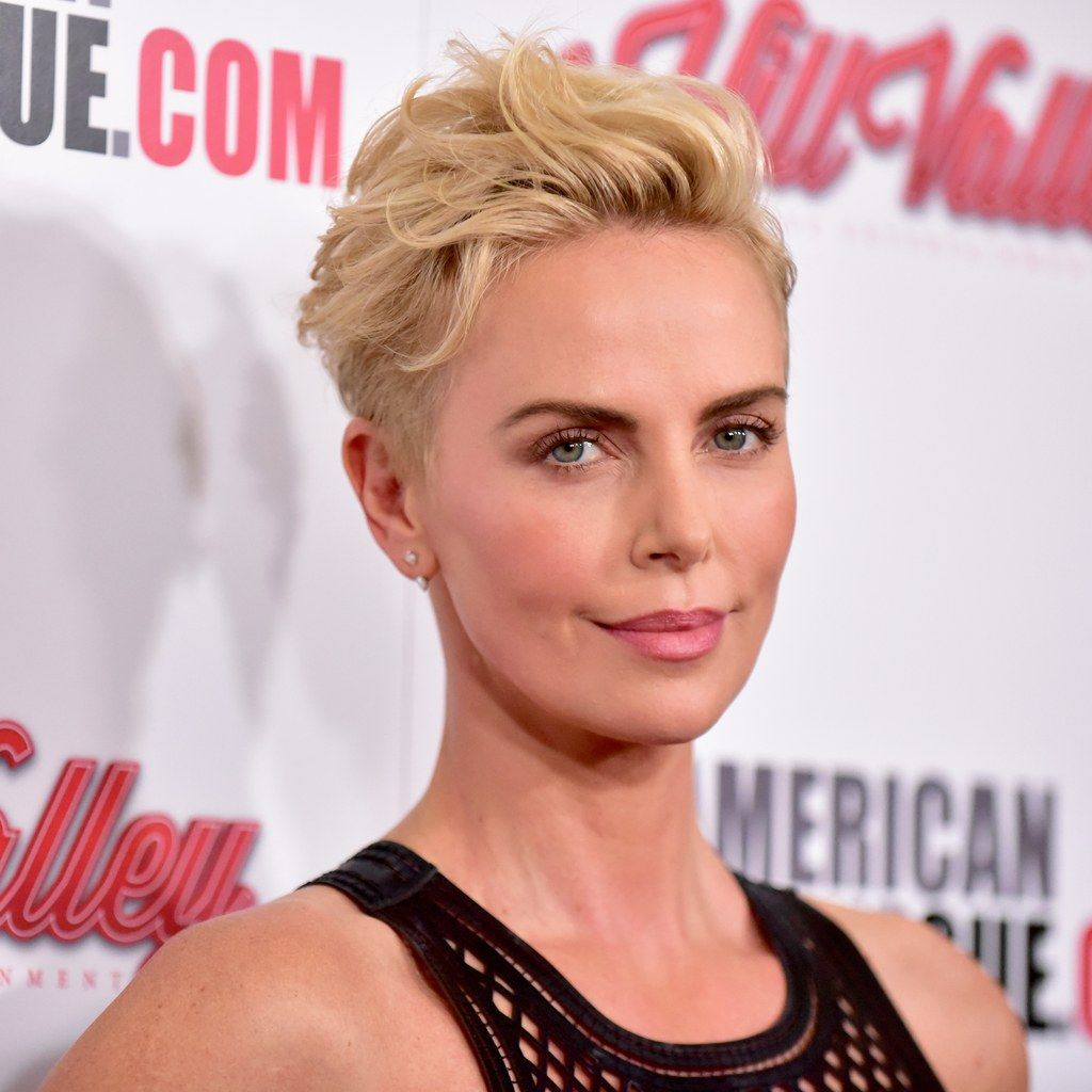 Charlize Theron Said Goodbye to Her Bowl Cut With