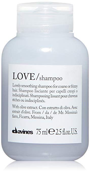 più vicino a bellezza ottima qualità Amazon.com: Davines Love Smoothing Shampoo, 8.45 fl.oz ...