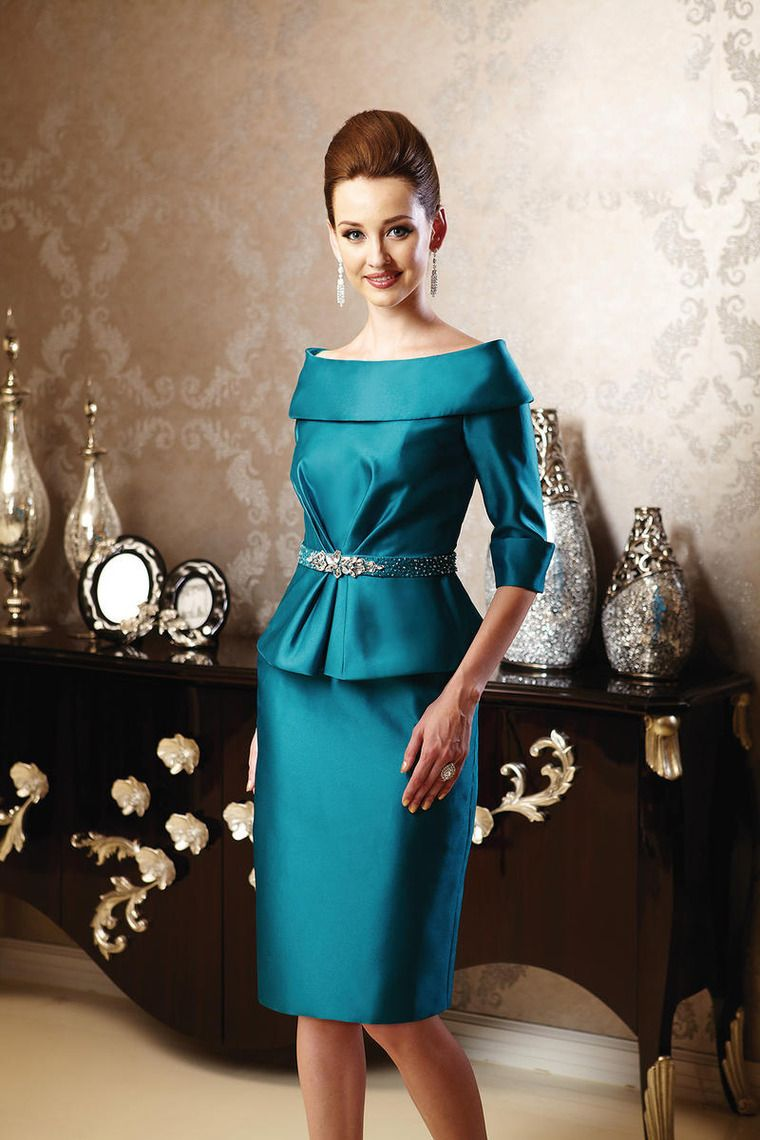 Fabulous Mother Of The Bride Dress Scoop Knee Length Mermaid USD ...