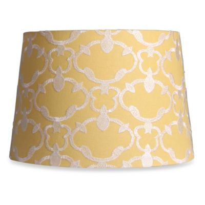 Bed Bath And Beyond Lamp Shades Brilliant Bed Bath & Beyond Mix & Match Medium 13Inch Embroidered Linen Drum Review