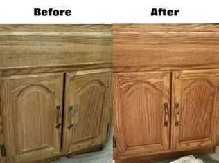 Best Easily Renew Wood Cabinets Without Actually Refinishing 400 x 300