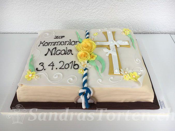 BildKommunions Torte  torten  Kommunion Torten und