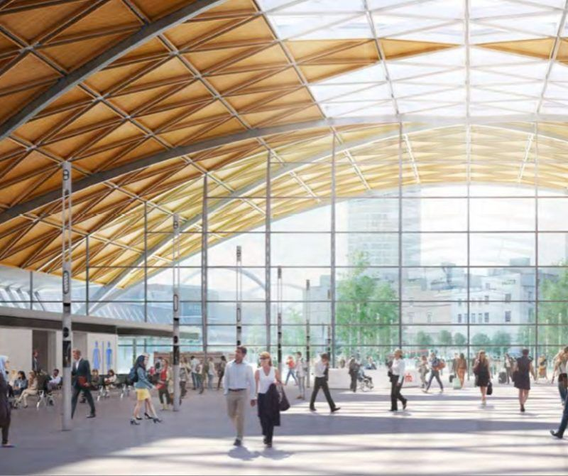 Hs2 S Vision For Curzon Street Station Features Urban Realm Design