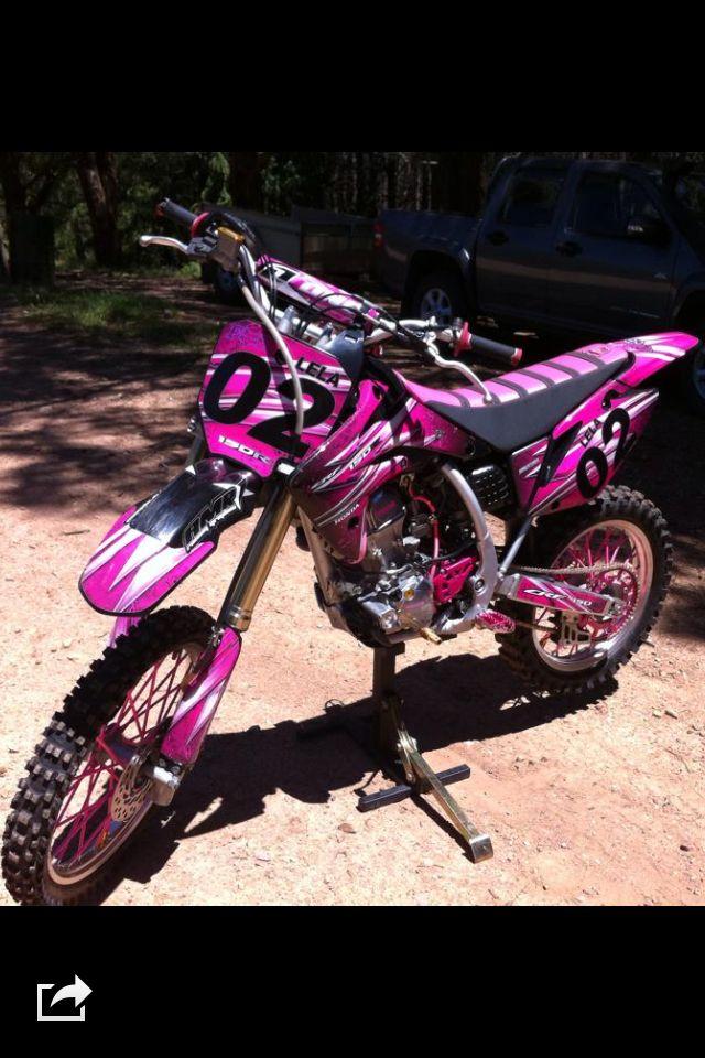 Pink Crf150 DirtbikesHonda Dirt BikeDirt