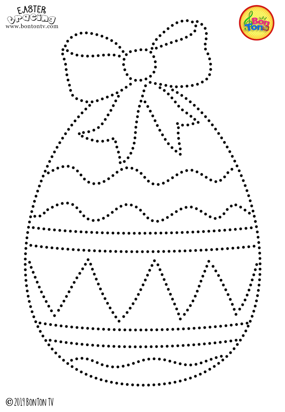 gunston coloring pages   Easter Tracing and Coloring Pages for Kids - Free ...