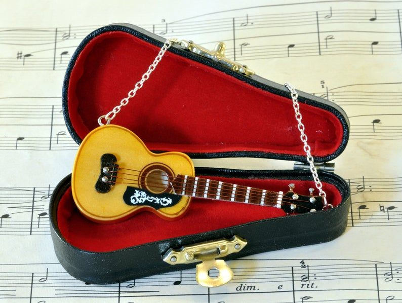 The Best Gifts For Guitar Teachers Unique Gifter In 2020 Guitar Jewelry Music Necklace Music Inspired Jewelry