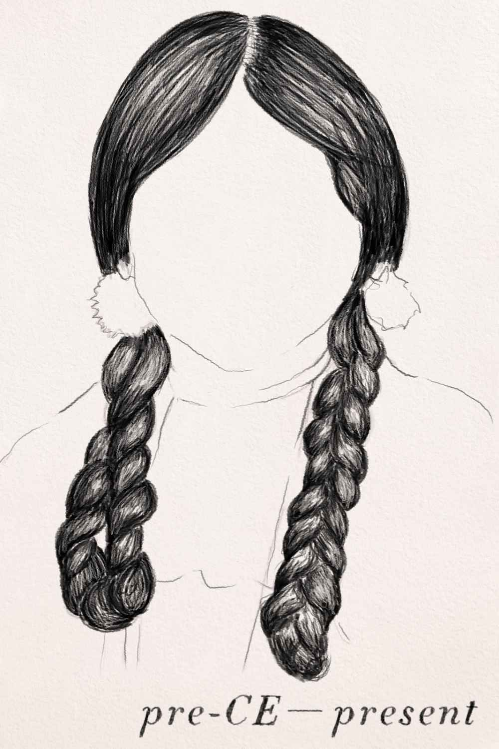 these braids are going to be a part of my project   project