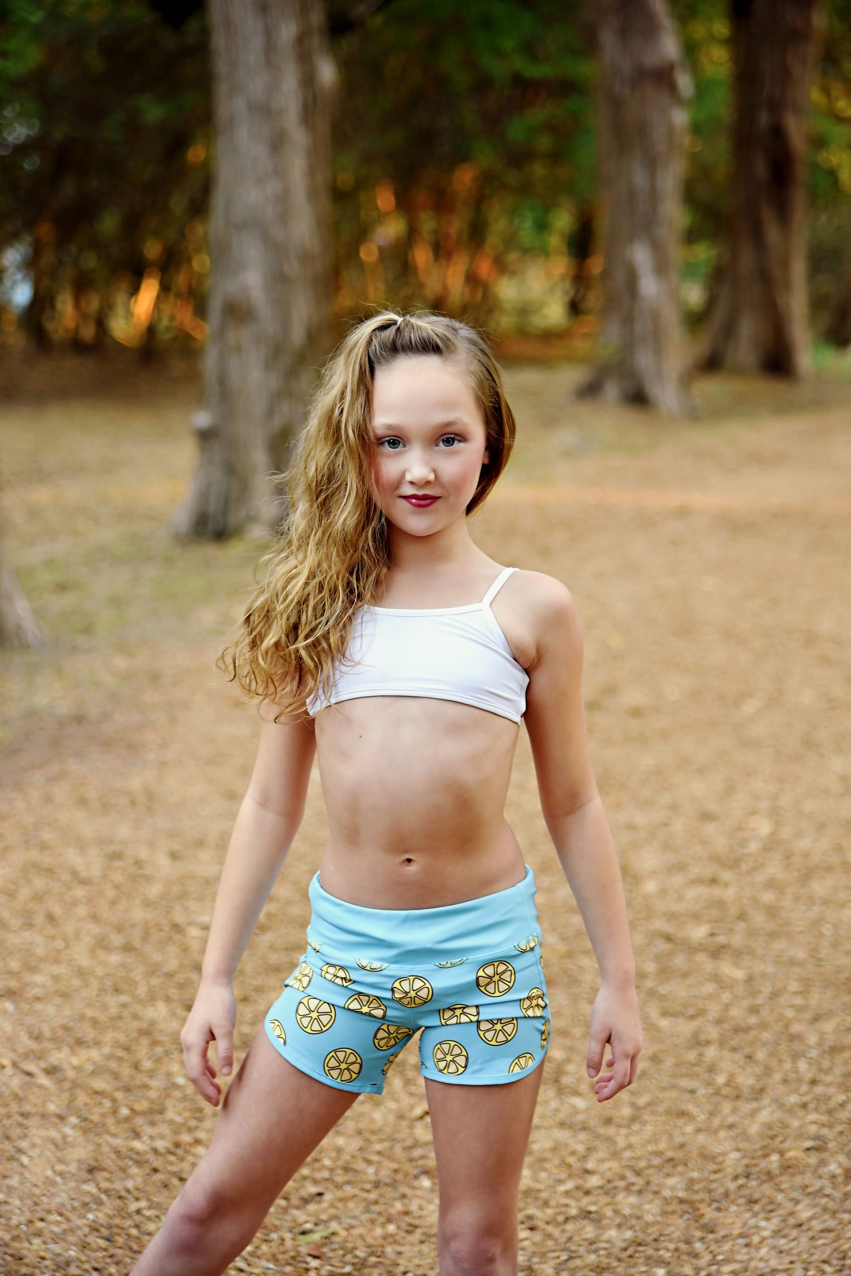 Puberty shorts pre girls