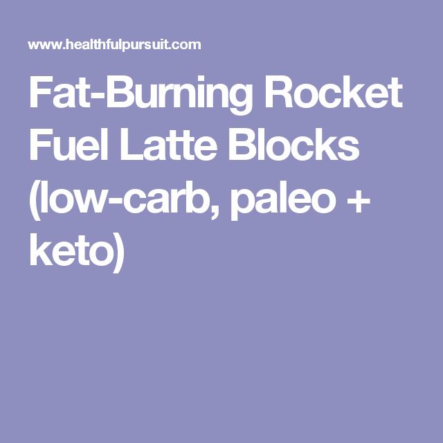 Keto Rocket Fuel Latte Blocks