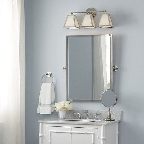 Classic Looks And Enduring Quality For The Bath Our Beveled Amelie Mirror Pivots Up Down Perfect Viewing Angle