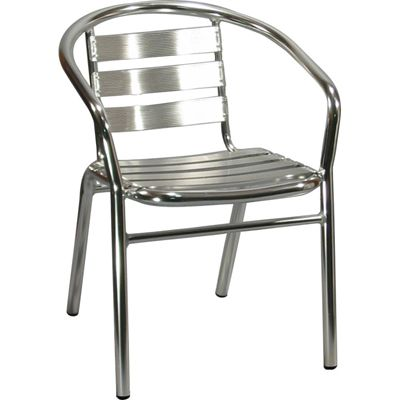 Lovely Outdoor Aluminum Patio Chair. Availability: Build To Order. Minimum Order  Of 12.