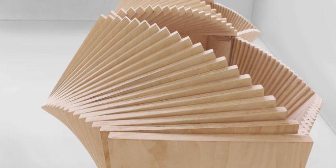 spektakuläre sideboard-skulptur aus holz - freshouse | möbel ... - Designer Holzmobel Skulptur