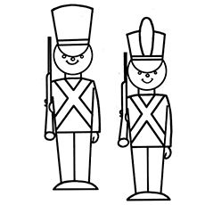 Top 10 Free Printable Soldier Coloring Pages Online Christmas Coloring Pages Christmas Toy Soldiers Christmas Toys