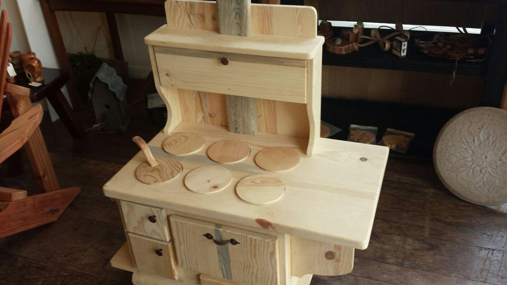 Play kitchen. Handmade in Humboldt.