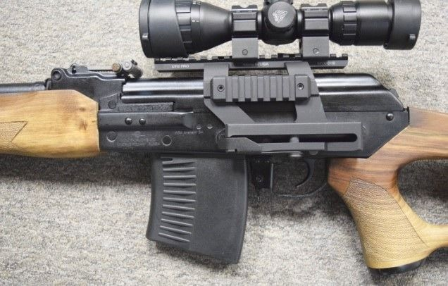 Vepr 7 62x54R Russian built AK variant with an RPK style