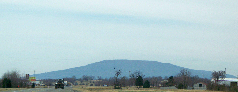 Poteau Mountain Oklahoma