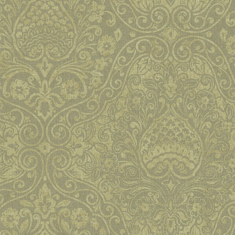 Inspiring platinum designer wallcovering by Brewster. Item RW20508. Lowest prices and fast free shipping on Brewster wallpaper. Search thousands of luxury wallpapers. Width 20.5 inches. Swatches available.