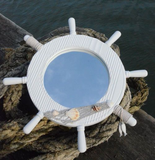 Nautical Mirrors and Driftwood Mirrors - ideal bathroom ...