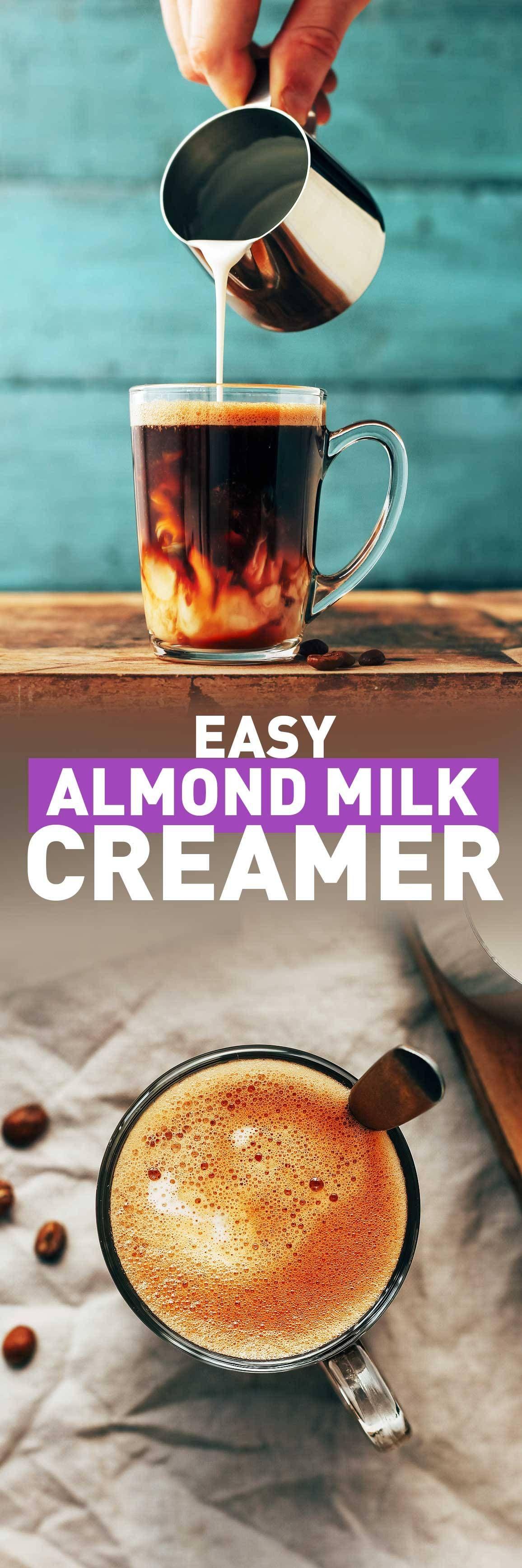 Easy almond milk creamer almond milk creamer almond