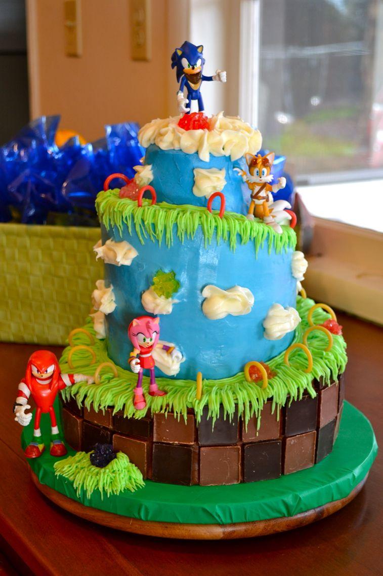 Sonic Birthday Cake Birthday Ideas For Boys In 2018 Pinterest