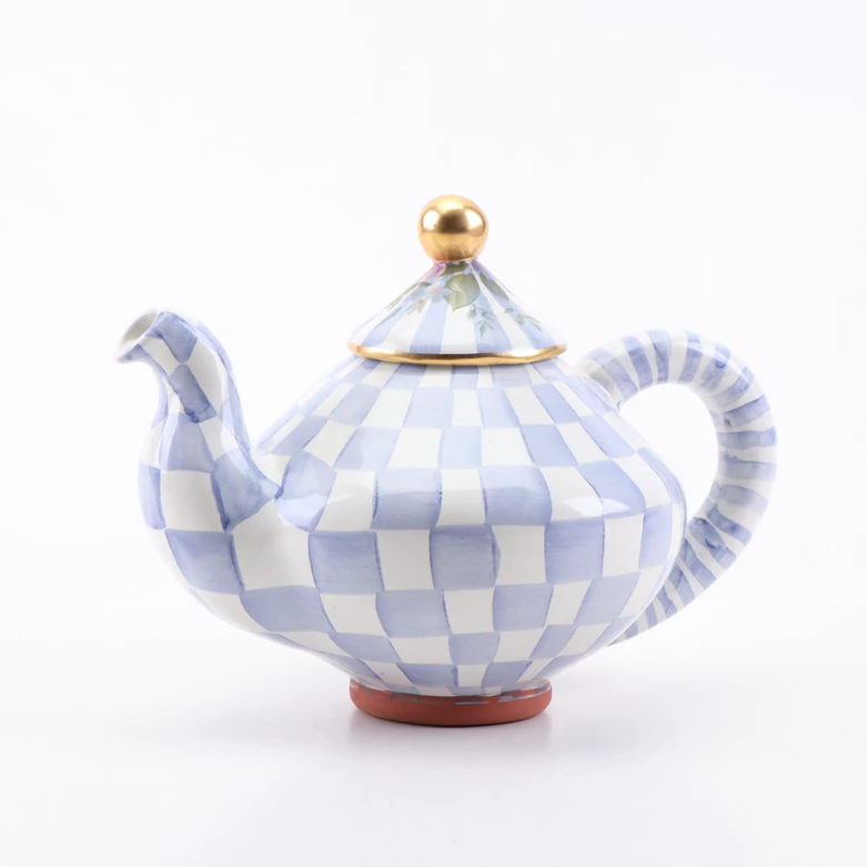 MacKenzie-Childs Morning Glory Teapot