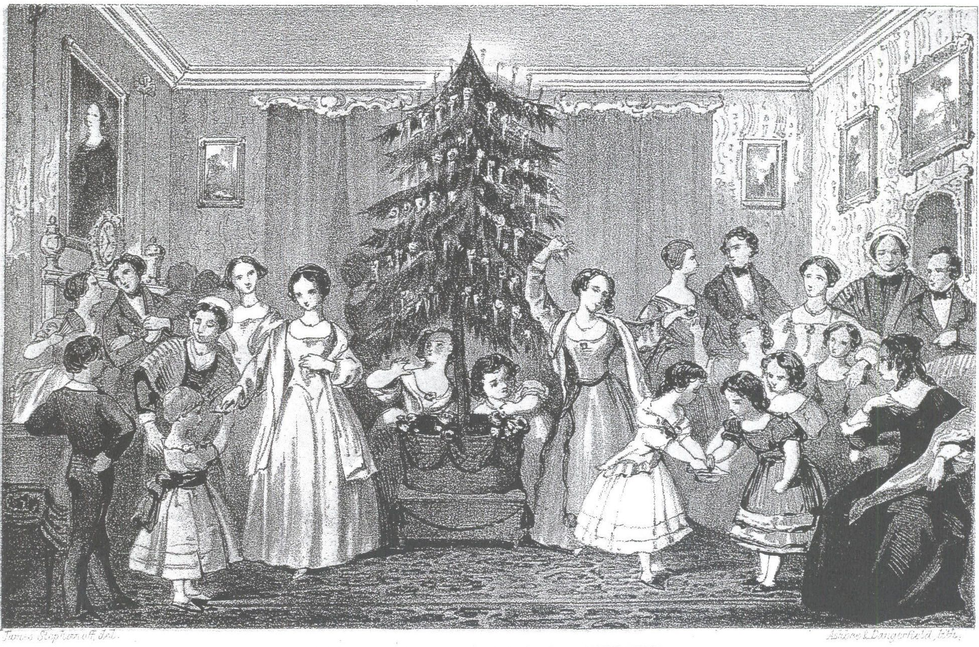 christmas decorations 1840   Email This BlogThis! Share to Twitter Share to Facebook   Victorian ...