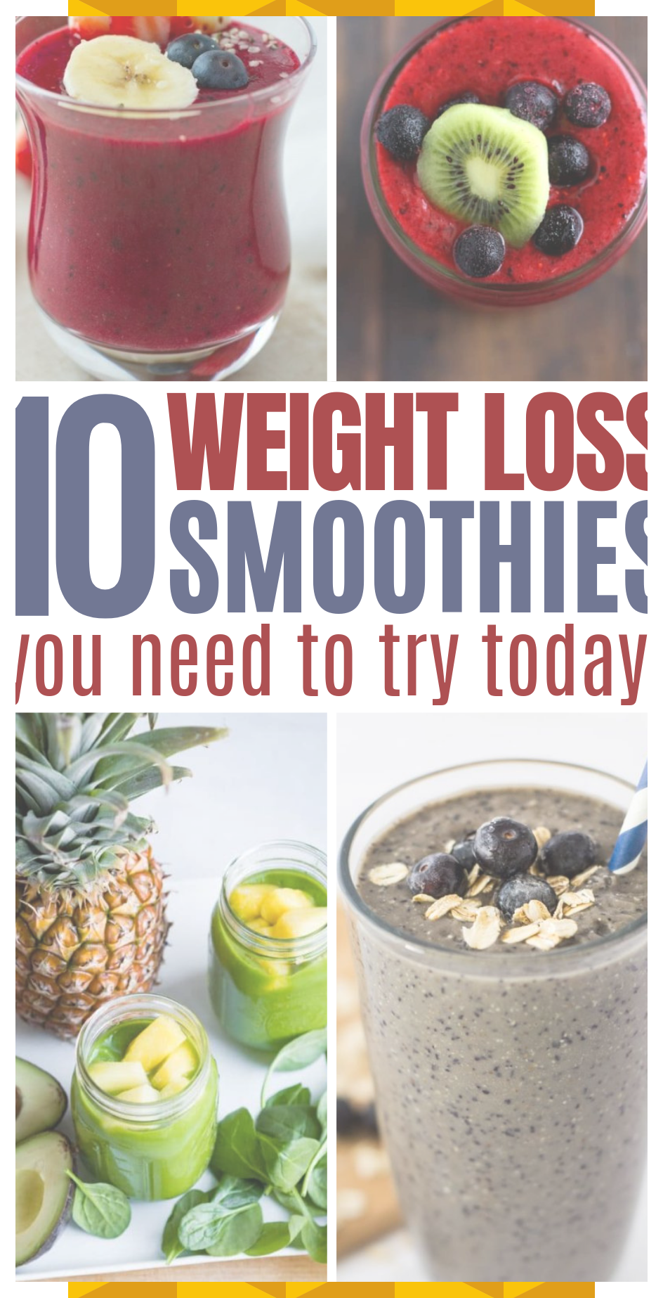 10 Super Healthy Smoothies For Weight Loss