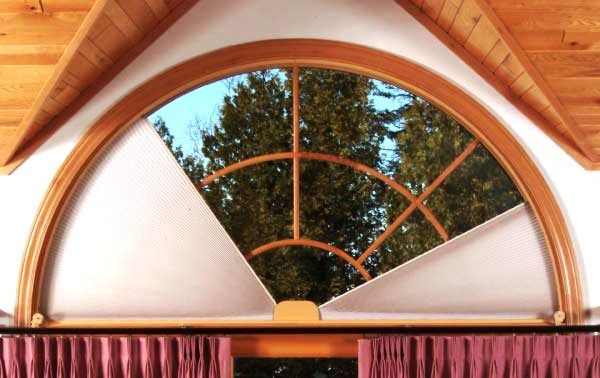 half circle window semi circle arched window coverings curtains for windows church half circle window pin by jenn on arch rods coverings pinterest