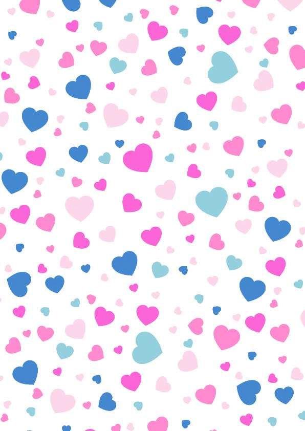 Pink Blue Hearts Fondos De Pantalla De Iphone Pantalla De Iphone Fondos De Pantalla
