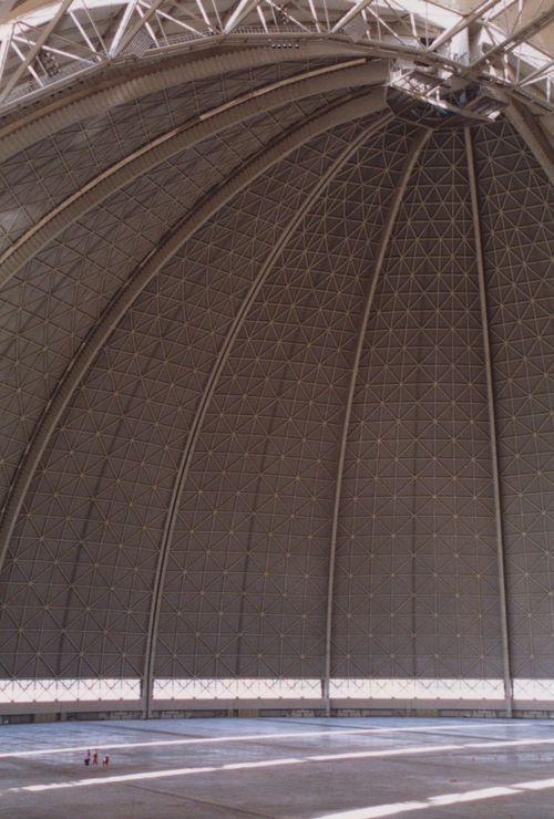 infiniteinterior:  Cargolifter airship hangar in Germany. Note...