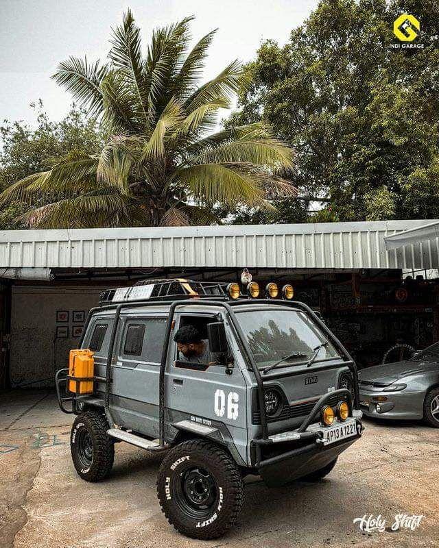 Custom Zombie Apocalypse Maluti Omni Van By Holy Shift Offroad Trucks Custom Cars Mini Trucks
