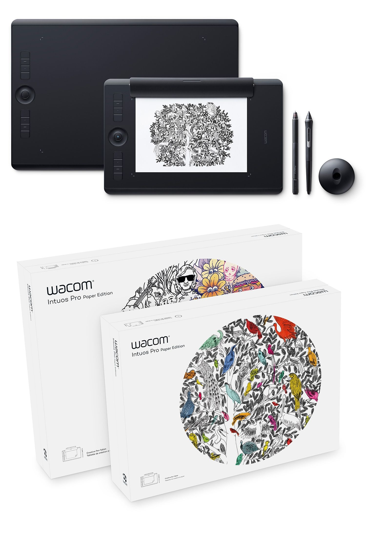 Wacom has a new Intuos Pro tablet - and there's a Paper Edition you