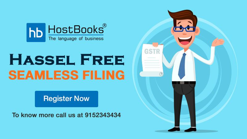 Enjoy Hassle Free Gst Return Filing With Hostbooks It Will Execute All Your Gst Return Activities And You Sh Goods And Services Financial Position Activities