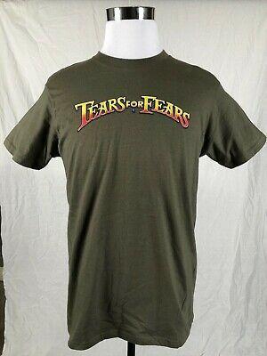 Tears For Fears OFFICIAL LOGO Green Tour Shirt-LARGE-Roland Orzabal-RARE #fashion #entertainment #memorabilia #musicmemorabilia #rockpop (ebay link)