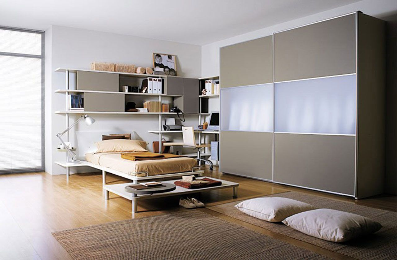 College student bedroom decorating with hardwood floors & College student bedroom decorating with hardwood floors | Bedroom ...