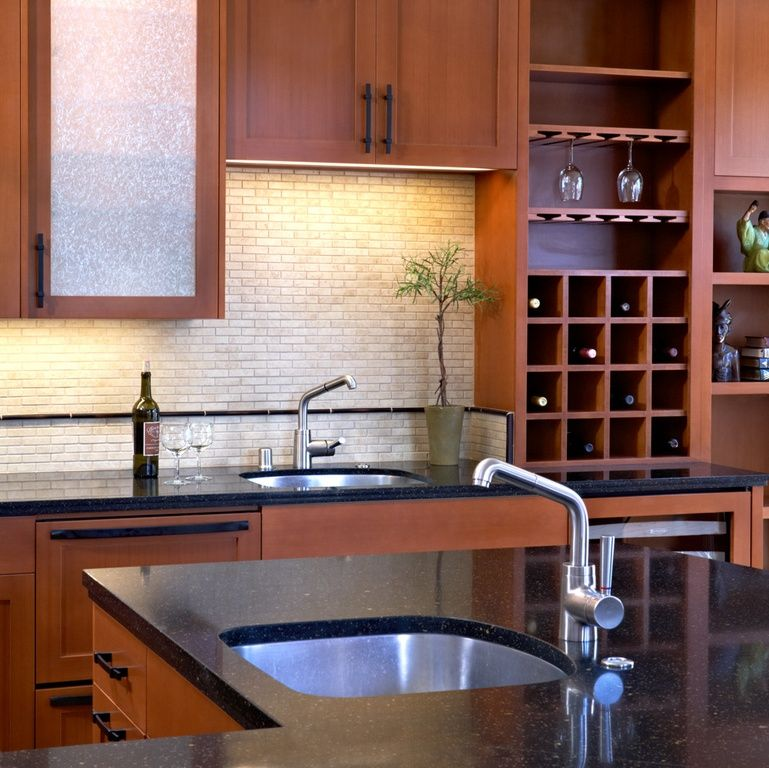 Contemporary Kitchen With Stonemark Granite-Granite