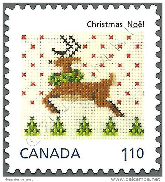 Christmas pattern (sello ciervo).